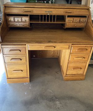 Antique roll top desk for Sale in Albuquerque, NM