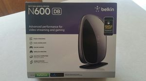 Belkin N600 Router for Sale in Flat Rock, MI