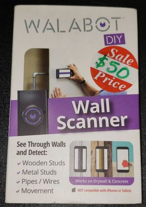WALABOT DIY ANDROID COMPATIBLE WALL SCANNER for Sale in China Grove, NC