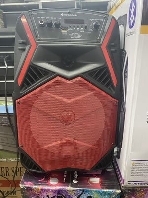 """Toptech 8"""" Wireless Bluetooth Portable Battery Rechargeable Party DJ Speaker with Mic & Remote - Brand New - Must See! for Sale in Berlin, NJ"""