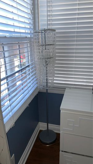 Chandelier Beaded Floor Lamp for Sale in Long Beach, CA