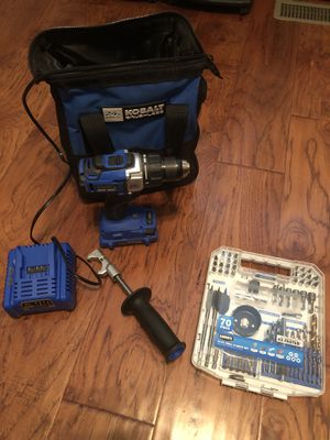 Kobalt drill tool set for Sale in Goldsboro, NC