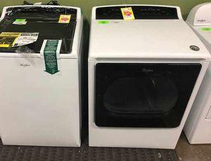 Whirlpool Cabrio Washer/Dryer Set UEWU for Sale in Dallas, TX