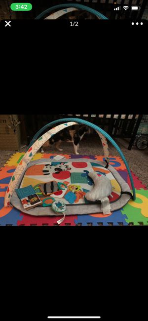 Baby Einstein tummy time play mat for Sale in Gilbert, AZ