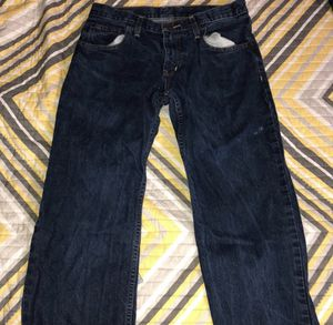 Navy blue jeans (33x29) for Sale in Leesburg, VA