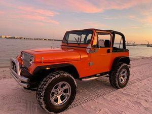 95 Jeep Wrangler YJ 4 x 4 5 speed manual for Sale in NEW PRT RCHY, FL