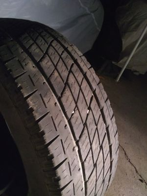 275 60 18 Toyo Open Country 3 tires and one is 275 65 18 all for 60$ for Sale in Upland, CA
