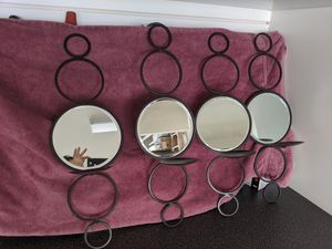 Mirrored Candle wall sconces for Sale in Orange, CA