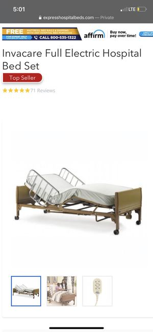 Metal Twin Medical Bed for Sale in Buffalo, NY