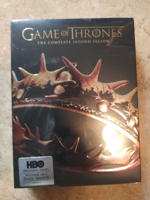 Season 2 dvd set of game of thrones for Sale in Los Angeles, CA