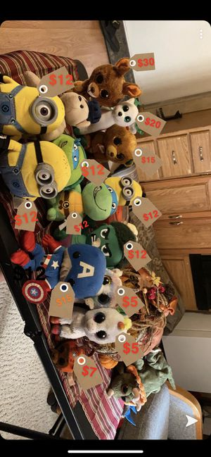 MAKE ME AN OFFER!! TY Beanie Babies, TY Christmas, Avengers, Minions for Sale in Palm Harbor, FL