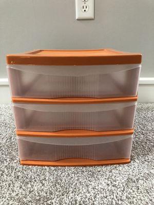 3-tier Plastic Storage Bin Container for Sale in Chicago, IL