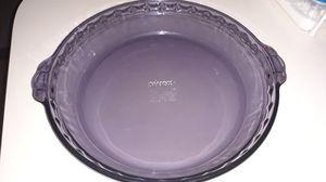 """Purple pyrex pie dish 9.5"""" for Sale in Apopka, FL"""