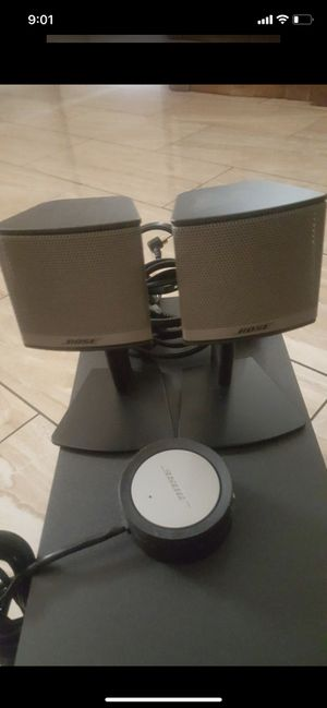 ( Trade for car stereo) Like new Bose companion 5 series II speaker surround sound set for music, gaming, TV and more for Sale in Los Angeles, CA
