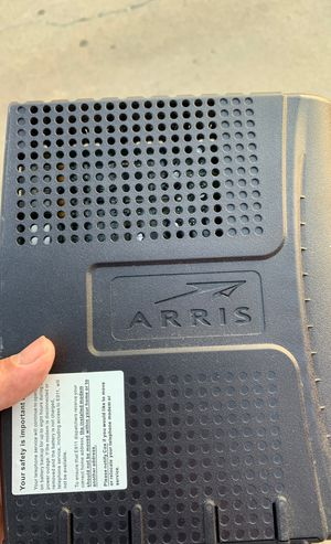 Arris Internet and phone router WiFi for Sale in National City, CA