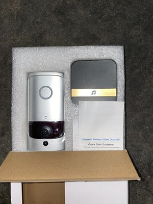 Wireless battery operated doorbell camera for Sale in Devine, TX