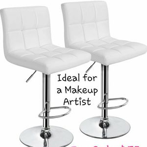 Makeup Artist Chairs or BAR HEIGHT CHAIRS for Sale in Hackensack, NJ