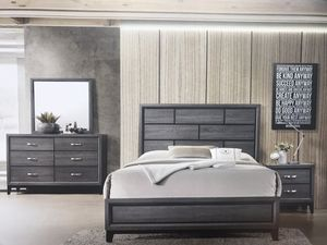 Brand new queen size bedroom set $599.financing available no credit needed for Sale in Hialeah, FL