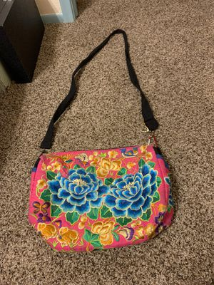 Silk embroidered flower purse for Sale in Tucson, AZ