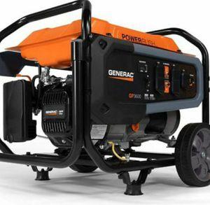 Portable Generator Emergency Outdoor Generador Portable GENERAC GP3600 for Sale in Miami, FL