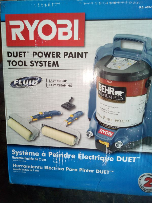 Ryobi power paint system rollers
