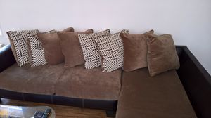 Small Sectional Couch With Two Tables for Sale in Chicago, IL