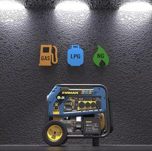 NEW Firman tri fuel 9400w generator fuel gas propane for Sale in Colton, CA