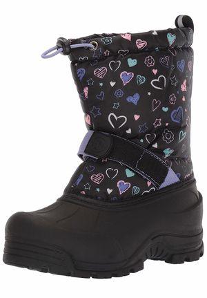 Boys Girls Toddler/Little Kids/Big Kids Frosty Winter Snow Boot (Size Girls Usa 13) for Sale in Las Vegas, NV