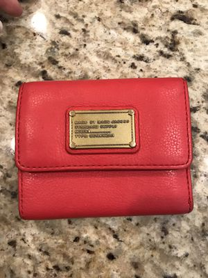 Marc by Marc Jacobs Red Bifold Wallet for Sale in Chandler, AZ