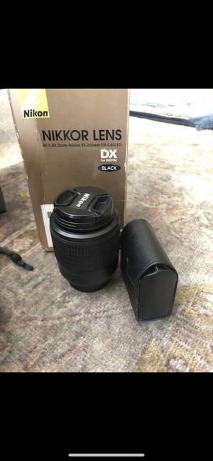 Nikon AF-S DX NIKKOR 55-200mm for Sale in Etiwanda, CA