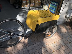 Quik-Pak Bike Cargo Trailer - One flat tire discount for Sale in Hollywood, FL