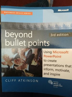 Beyond Bullet Points 3rd Edition for Sale in Wichita, KS