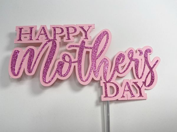 Mother's Day cake topper