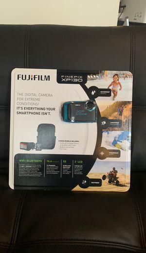 Fujifilm FinePix XP130 16.4MP Digital Camera Blue HD Wi-Fi Bluetooth +16GB SD for Sale in Lake Elmo, MN