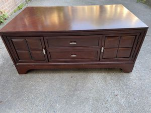 Large Wooden Coffee Table for Sale in Gaithersburg, MD