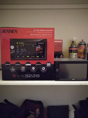 Brand new Jensen head unit for Sale in St. Louis, MO