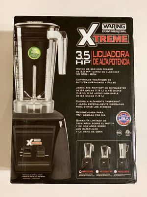 Waring MX1000XTX Xtreme 3 1/2 HP Commercial Blender w/ Paddle Controls & 64 oz. Copolyester Container for Sale in Westminster, CA