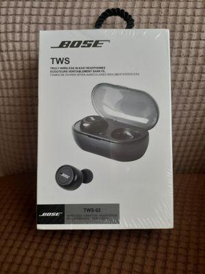 BOSE TWS TLULY WIRELESS IN-EAR HEADPHENES, BOSE EARPHONES TWS-02, BOSE BLACK EARPHONER WIRELESS for Sale in Los Angeles, CA