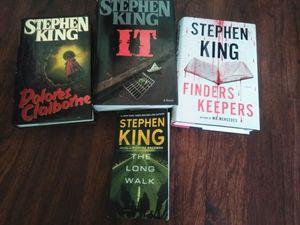 Stephen King books for Sale in Zephyrhills, FL