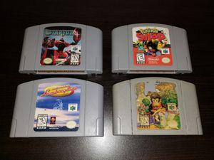 N64 Game Bundle for Sale in Avondale, AZ