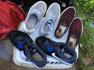 Shoes vans and Nikes only $10 each firm for Sale in Glen Burnie, MD