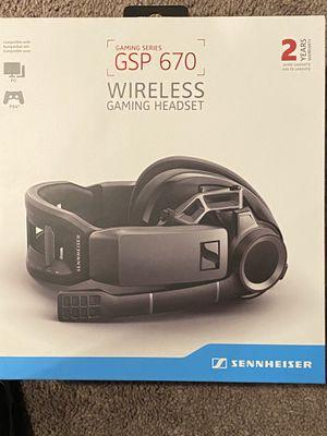 Sennheiser GSP 670 wireless gaming headset for Sale in Westminster, CO