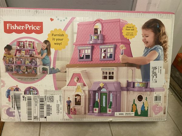 Fisher Price doll house BRAND NEW