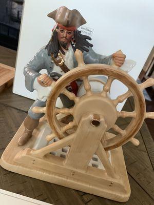 Disney Pirates of the Caribbean Captain Jack Sparrow Figurine by Lenox for Sale in Mount Laurel Township, NJ