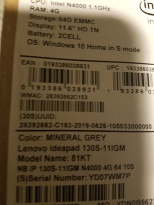 Lenovo for Sale in Wilmington, DE