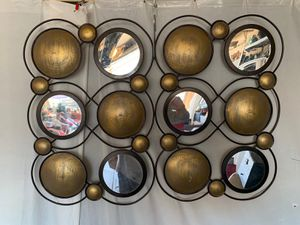 Mirrored wall decor 22x30 for Sale in Glendale, AZ