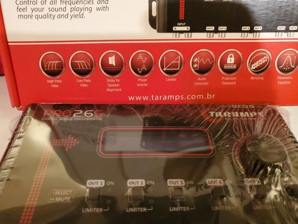 TARAMP DIGITAL AUDIO PROCESSOR CROSSOVER 6 OUTPUT