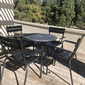 Table With Four Chairs for Sale in Chula Vista, CA