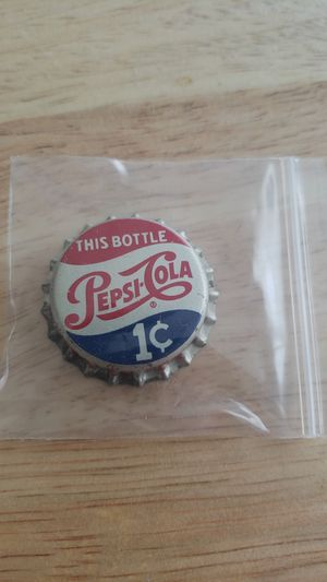 Antique Pepsi Bottle Cap for Sale in Rocky River, OH