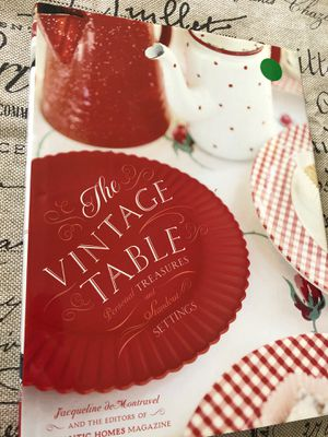 New book The Vintage Table - farmhouse, shabby chic, decor for Sale in AZ, US
